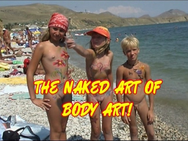 The naked art of body art AWWC