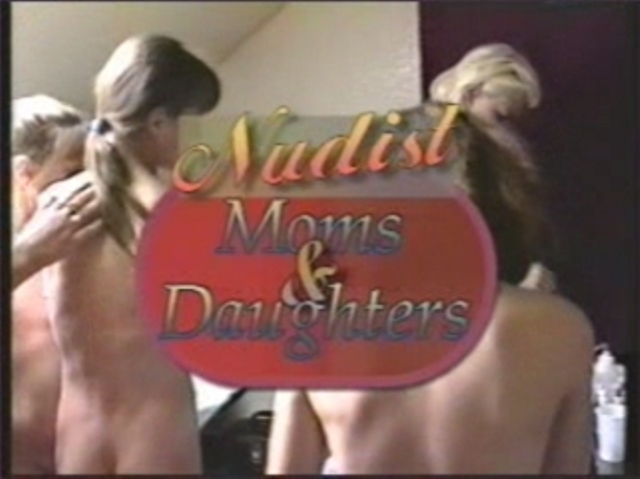 Naturist Moms and Daughters