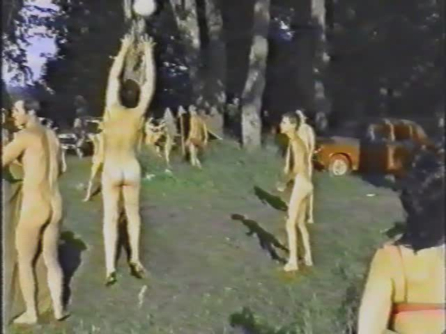 Suburbs Night of Ivana Kupala July 1997 (vintage nudism)