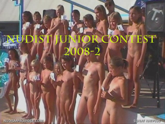 Nudist junior contest 2008-2