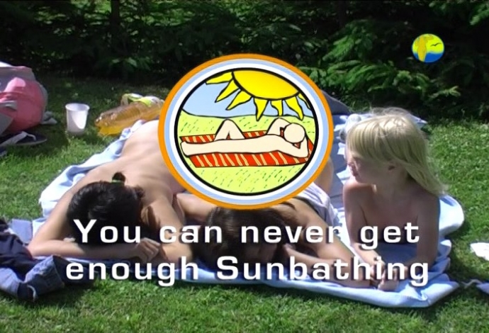 You Can Never Get Enough Sunbathing (NaturistFreedom)