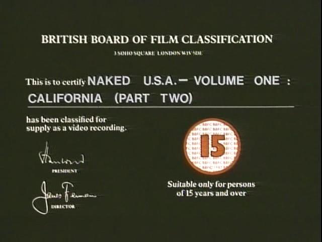 Naked USA California
