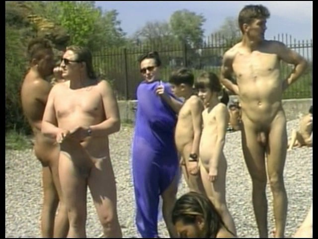 Naked May Day in Odessa