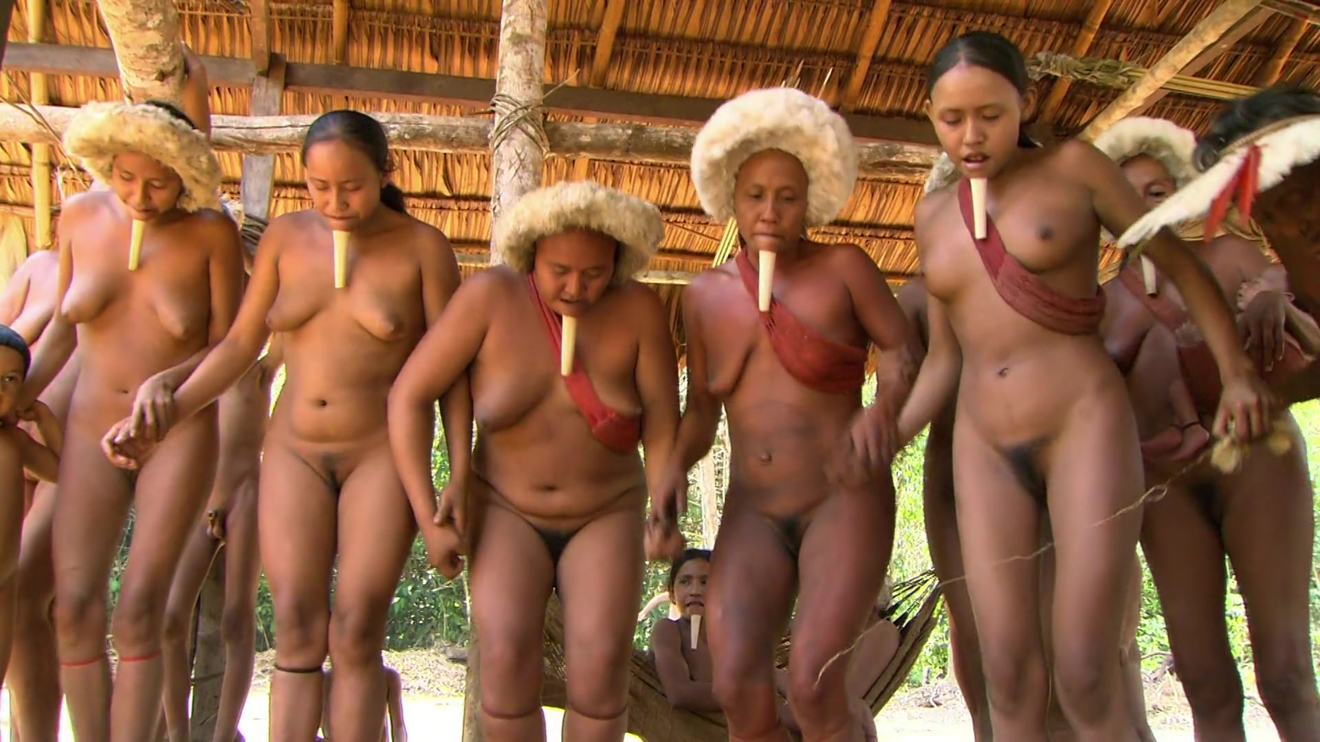 Amazon nude tribes native