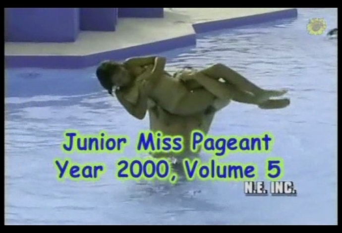 Junior Miss Pageant Year 2000-5