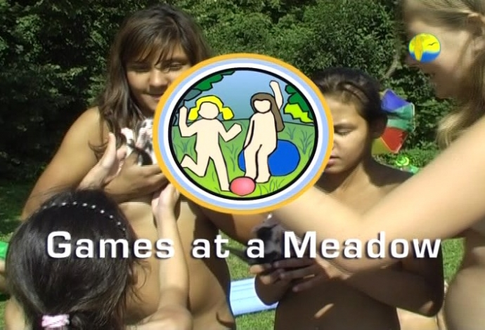 Games at a Meadow NaturistFreedom