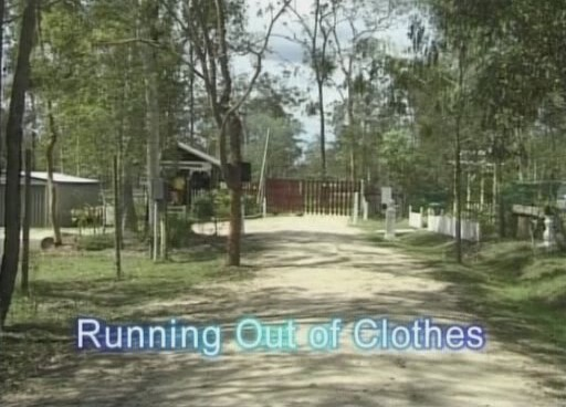 Running out of clothes