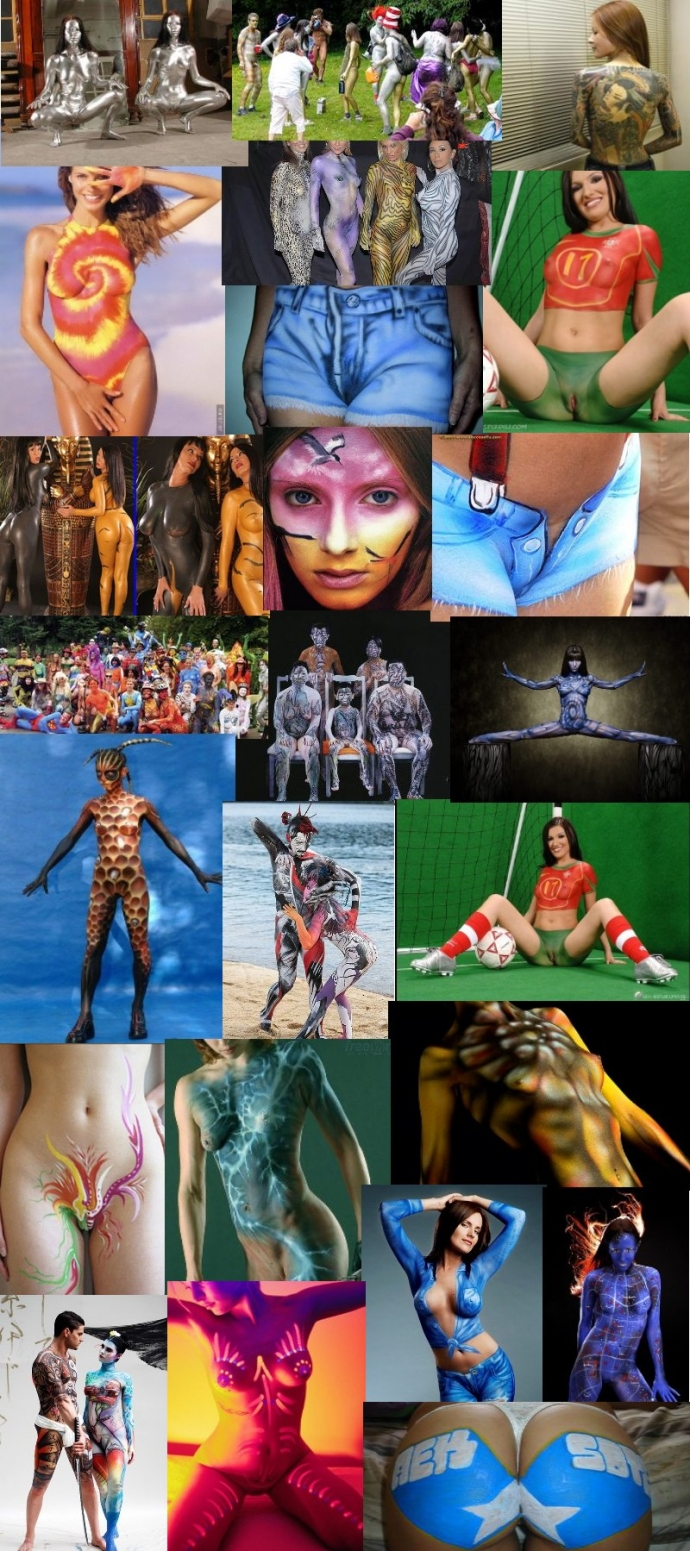Collection of body art