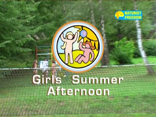 Girls Summer Afternoon (NaturistFreedom)