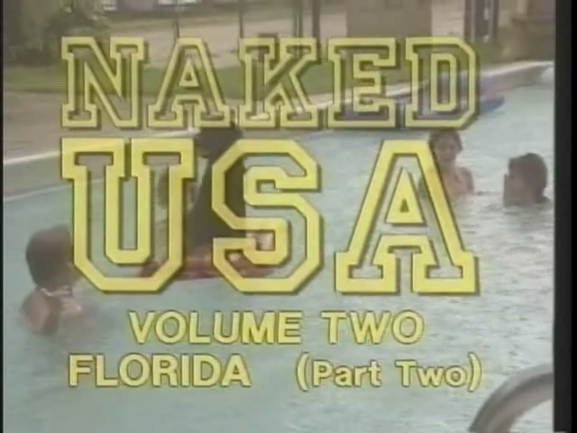 NAKED USA FLORIDA 1990