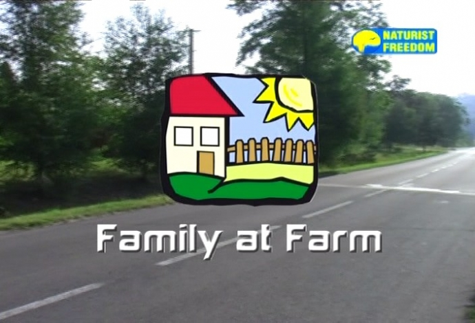 NaturistFreedom Family At Farm