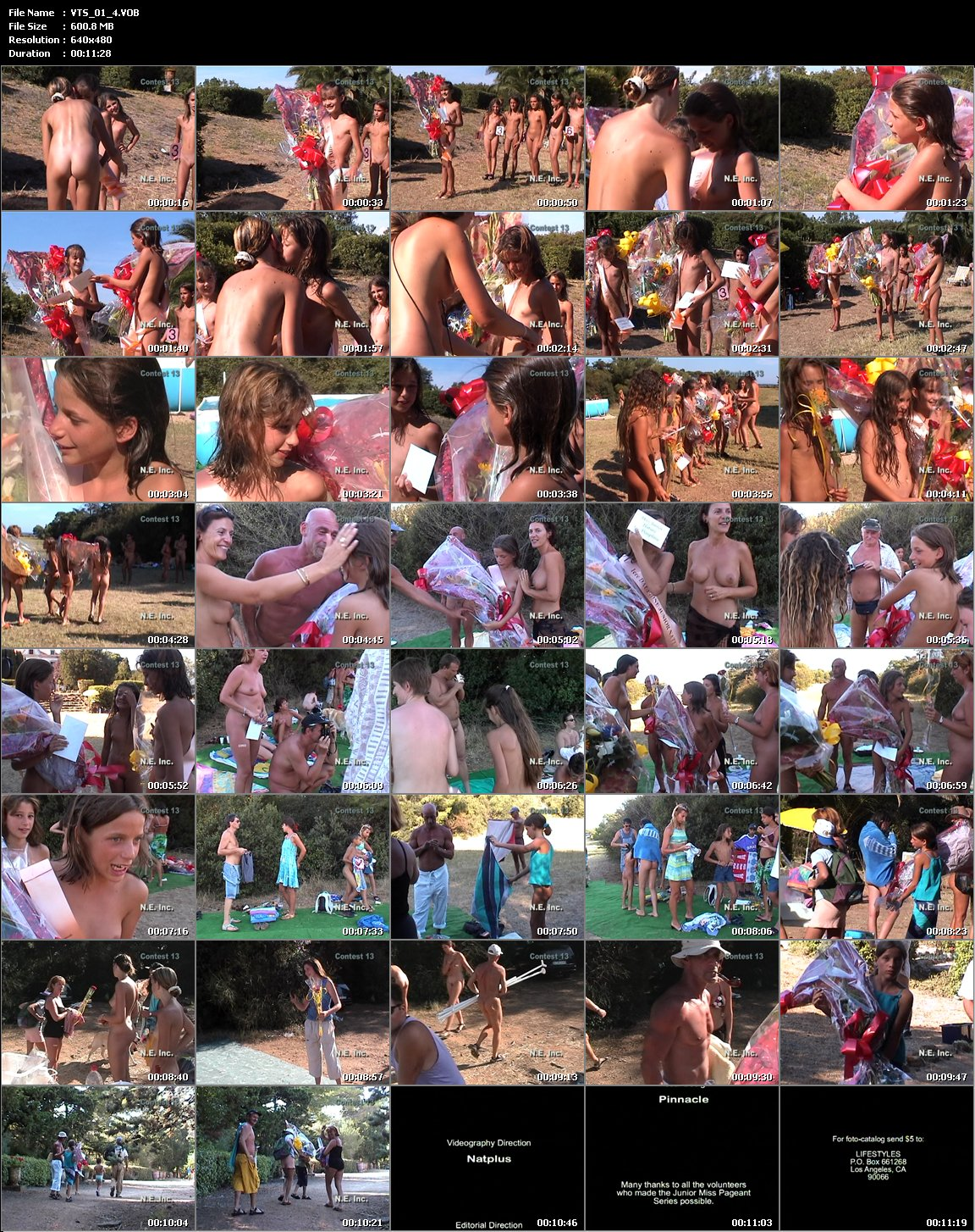 Video. Junior Miss Naturism you can