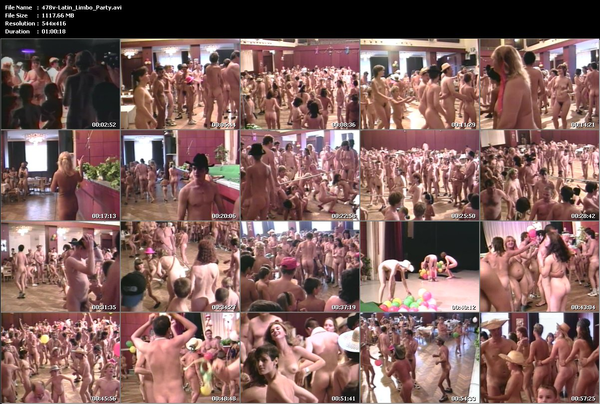 nudist latin limbo party
