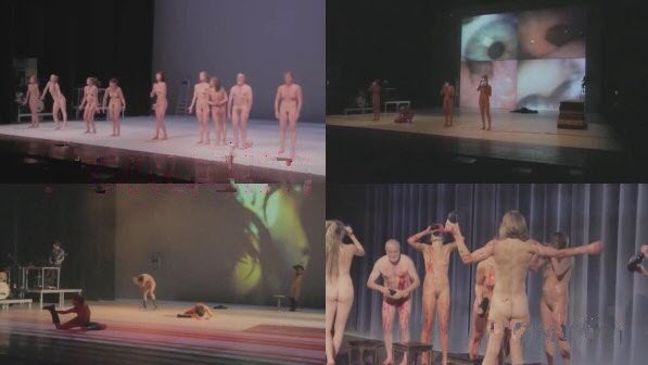 Naked theatre of the Netherlands Who Final