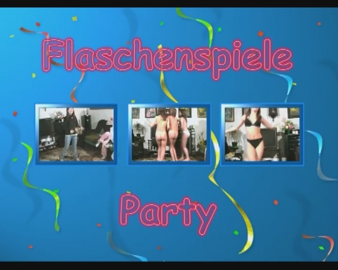Flaschenspiele Party - naturistin