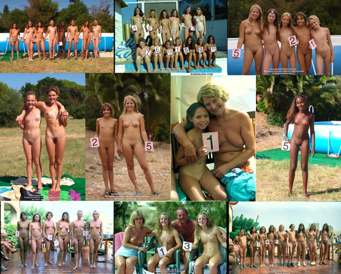 A new generation of young nudists 162 photos  Family
