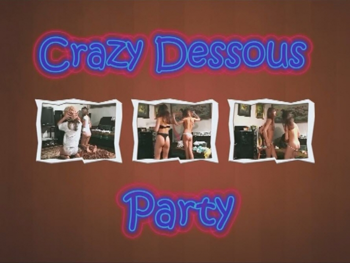 Crazy Dessous Party naturistin