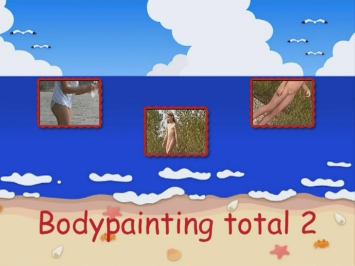 Bodypainting total 2 naturistin