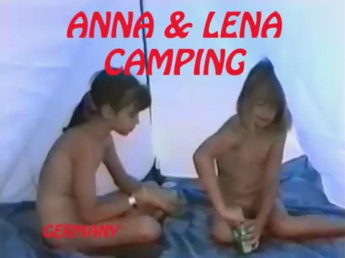 Anna and Lena Camping