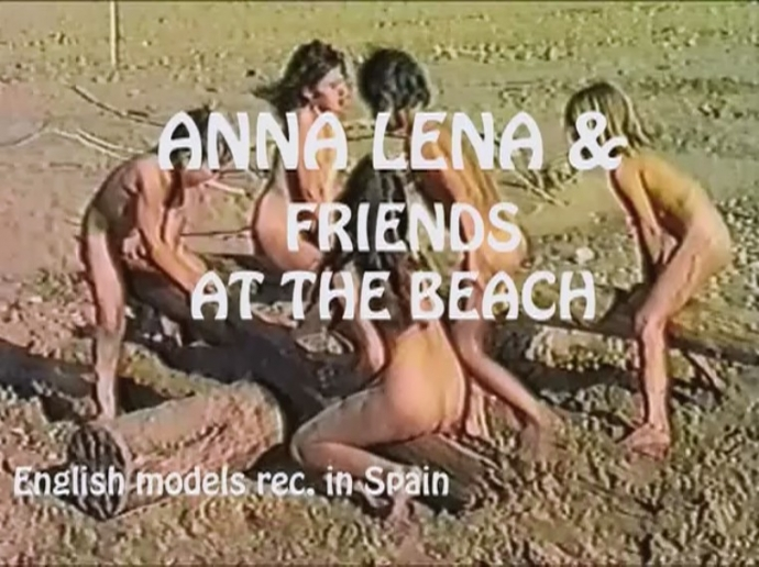 Anna Lena and Friends at Beach