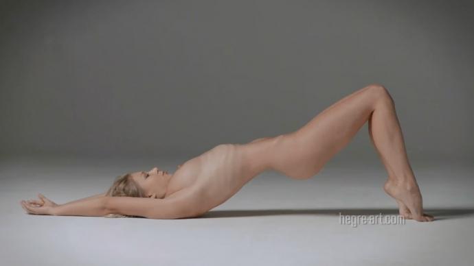 Darina L. Slow Symphony - Nude aerobics (1080p)
