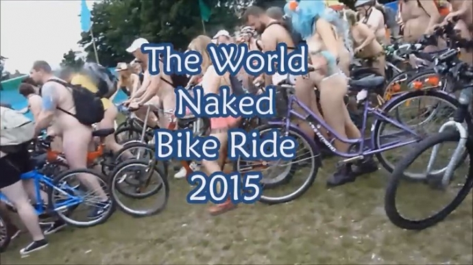 World Naked Bike Ride Brighton 2015