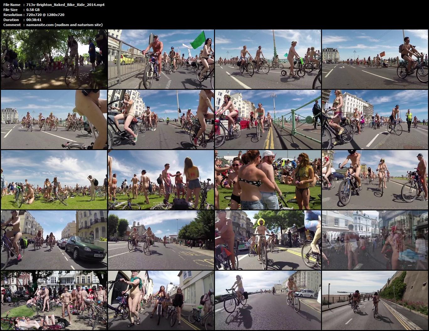 brighton nudist bike ride 2015