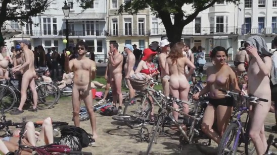 Brighton Naked Bike Ride 2014 (720p)