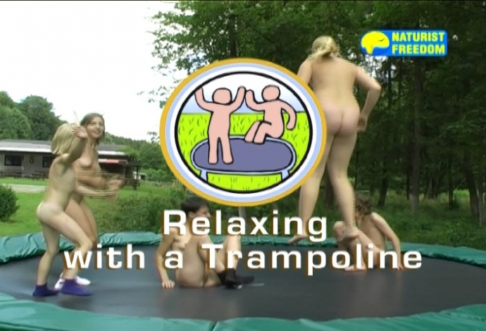 Relaxing with a Trampoline (NaturistFreedom)
