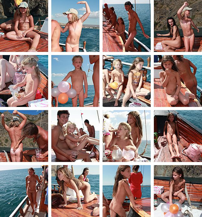PureNudism BODY PAINT and BOATS