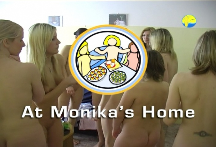 At Monika's Home (NaturistFreedom)