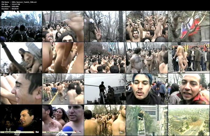 Spencer Tunick Chile