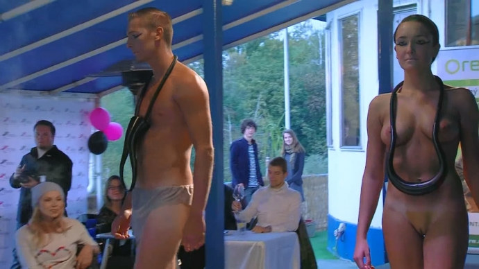 Nude Fashion Show 2014