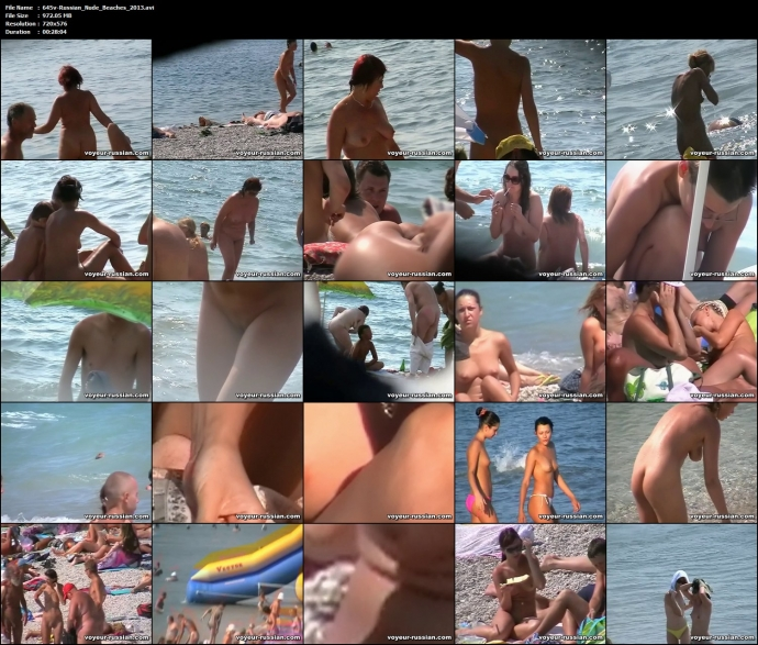 Russian Nude Beaches 2013