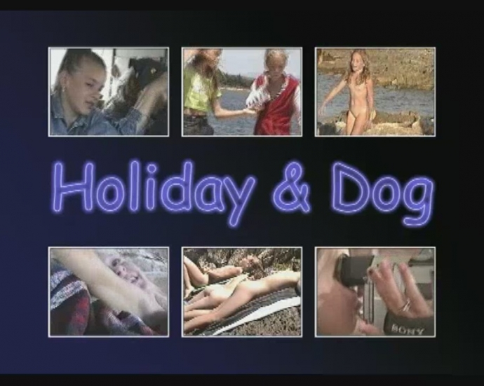 Holiday and Dog (naturistin video)