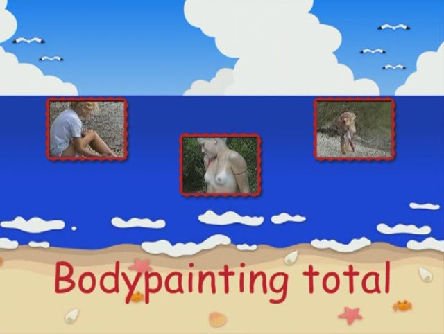 Bodypainting total (naturistin)